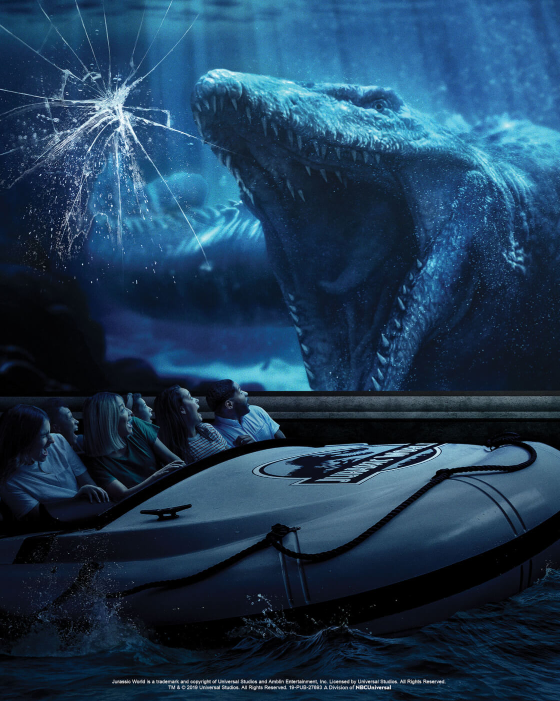 'Jurassic World the Ride' Officially Opens at Universal Studios Hollywood!