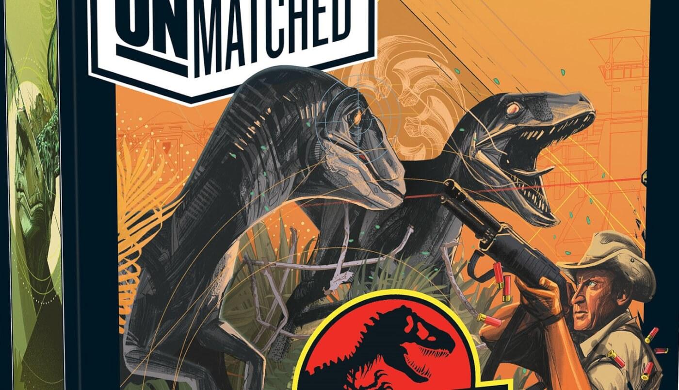 Mondo and Restoration Games Reveal Jurassic Park 'Unmatched' Skirmish Games!