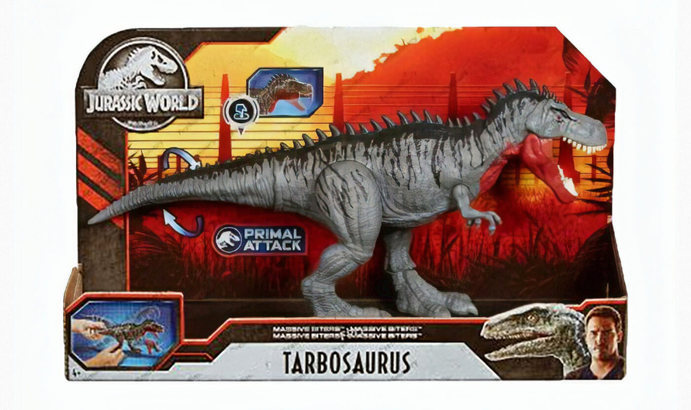 "First Look at Mattel's 2020 Jurassic World ""Primal Attack"" Toys!"