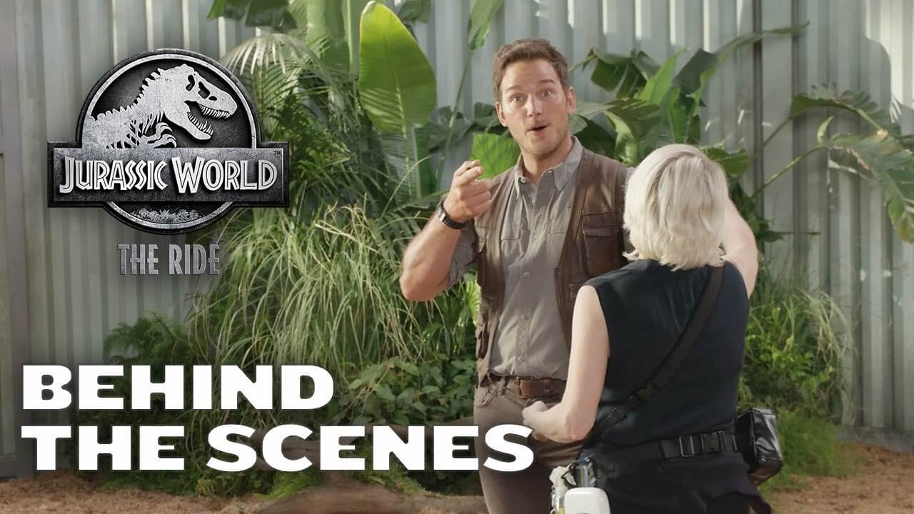 Watch Steven Spielberg Talk the Jurassic World Ride at Universal Studios Hollywood in a New Behind the Scenes Video!