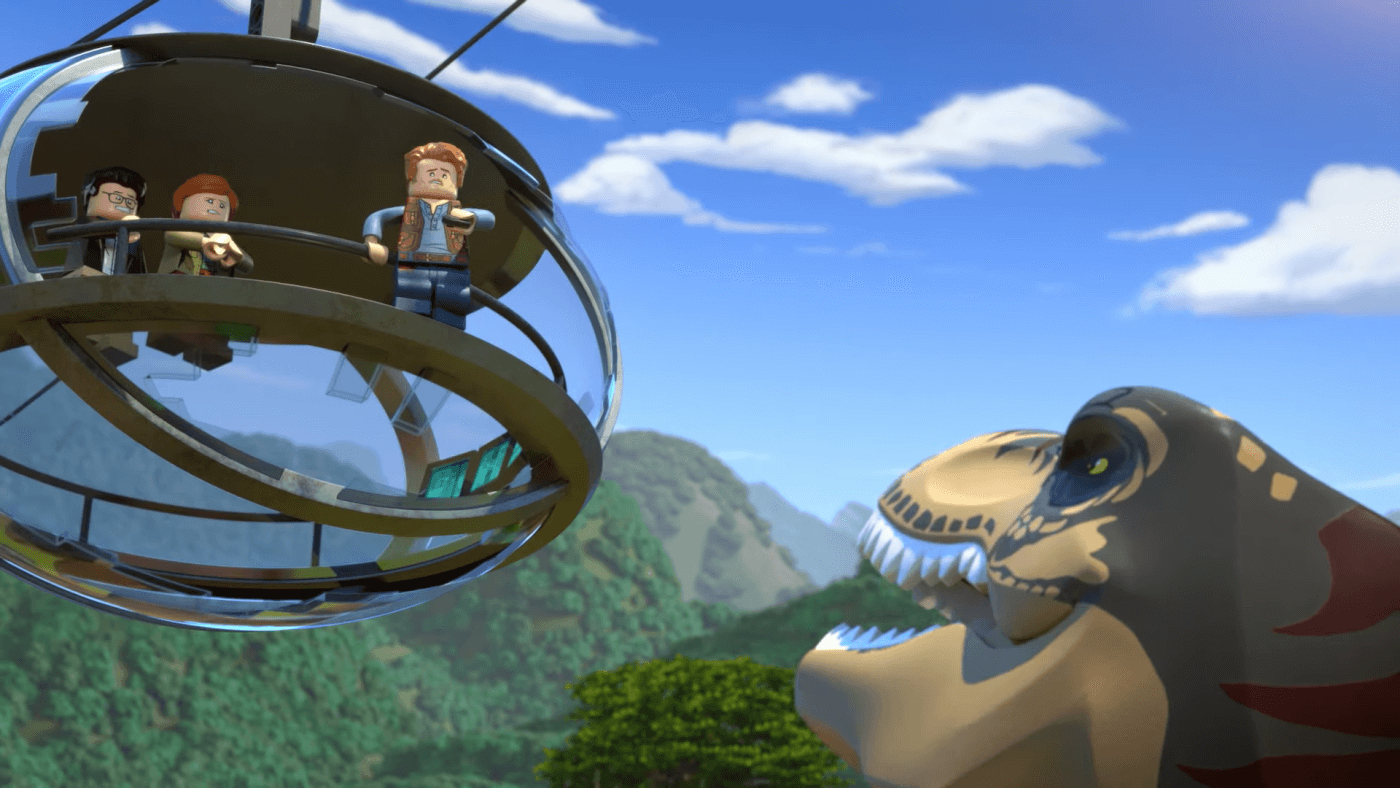 Watch the First Episode of the Upcoming Lego Jurassic World TV Show Now!