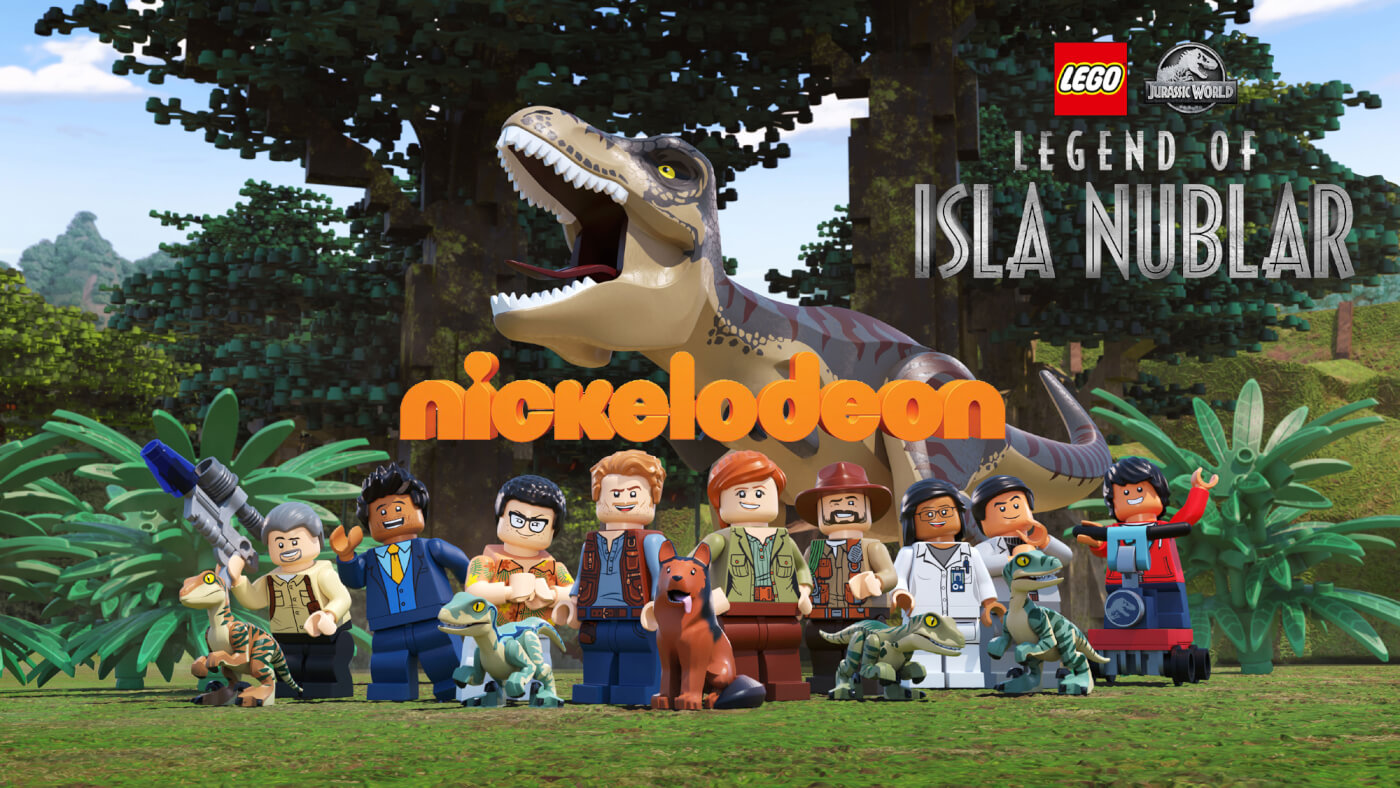 LEGO Jurassic World: Legend of Isla Nublar animated mini-series to air on Nickelodeon