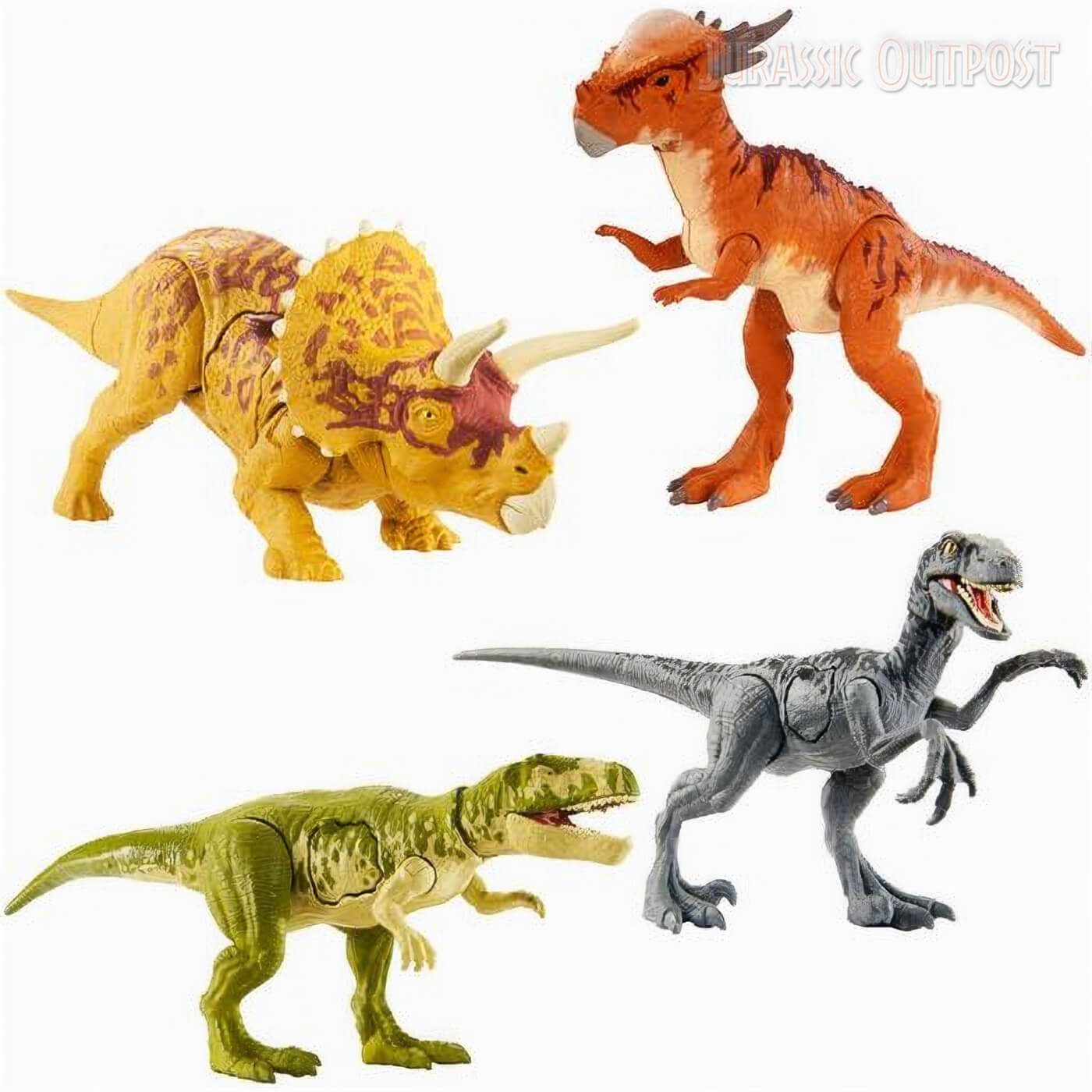 Huge Assortment Of Mattel S 2020 Jurassic World Primal Attack Toys Revealed Jurassic Outpost Dinosaur names with pictures, a complete online reference. jurassic outpost