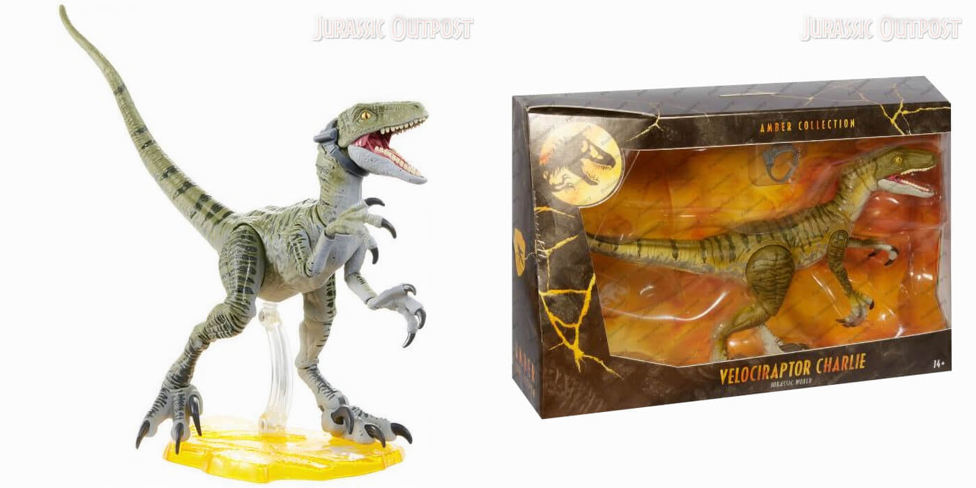 Dr Ian Malcolm Jurassic Park World Amber Collection Action Figure New Hasbro
