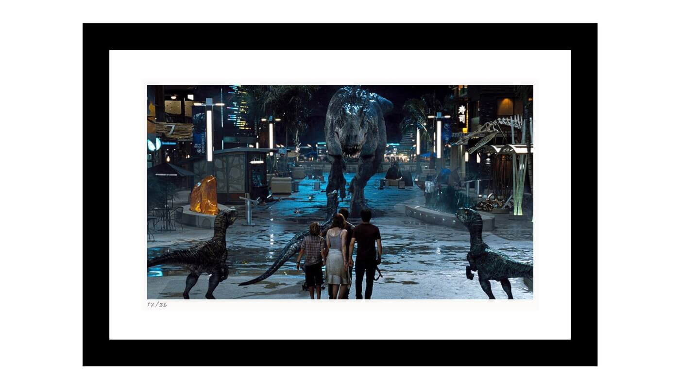 Shop the Jurassic World Collection at Classic Stills with Discount Code Outpost20!
