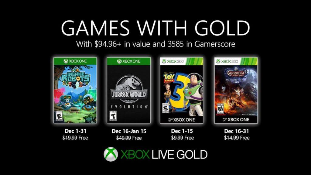 Games with Gold - Jurassic World Evolution