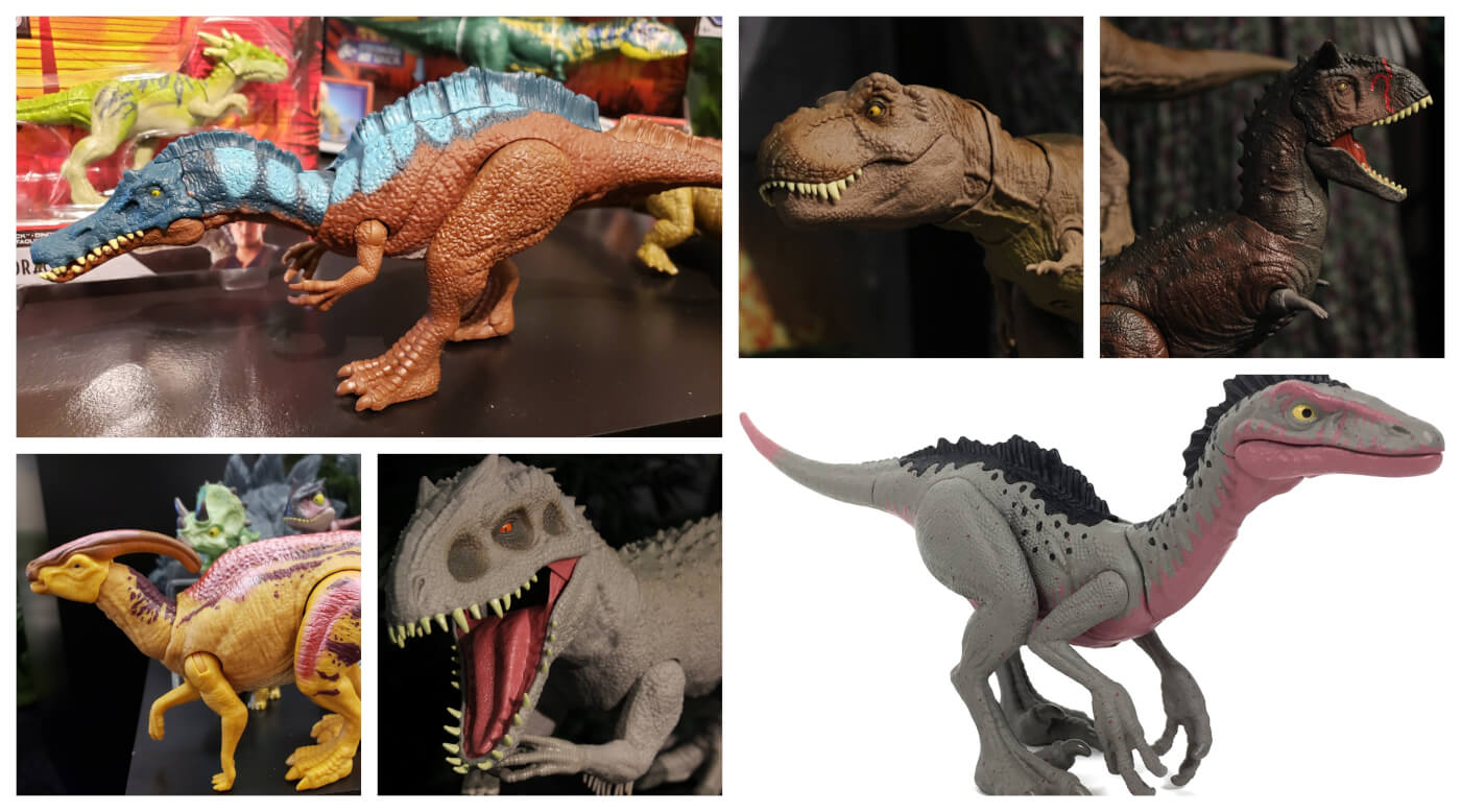Huge Assortment of Mattel Jurassic World and Camp Cretaceous Reveals from Toy Fair 2020!