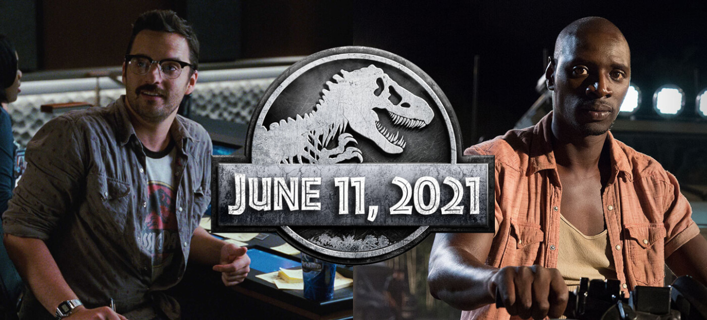 Jake Johnson and Omar Sy returning for Jurassic World 3