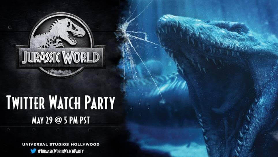 Celebrate National Dinosaur Day With The Jurassic World Watch Party – Hosted by Universal Studios on Twitter!