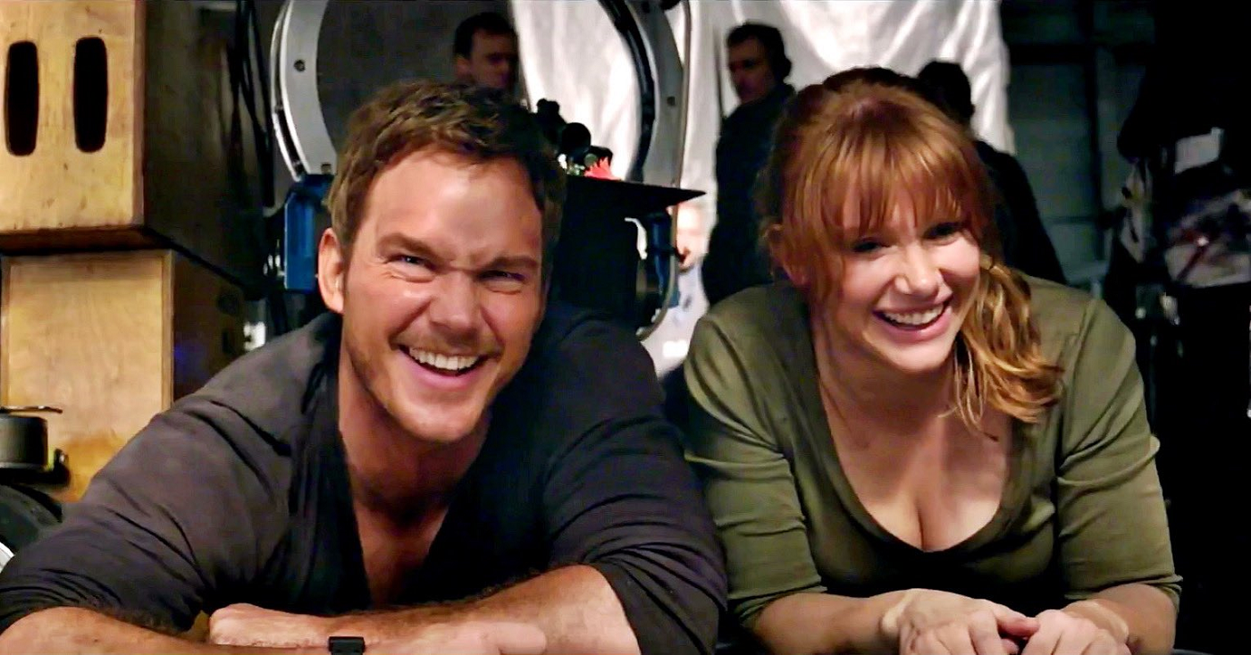 Bryce Dallas Howard Shares Battle Damage Photos From 'Jurassic World Dominion' Set