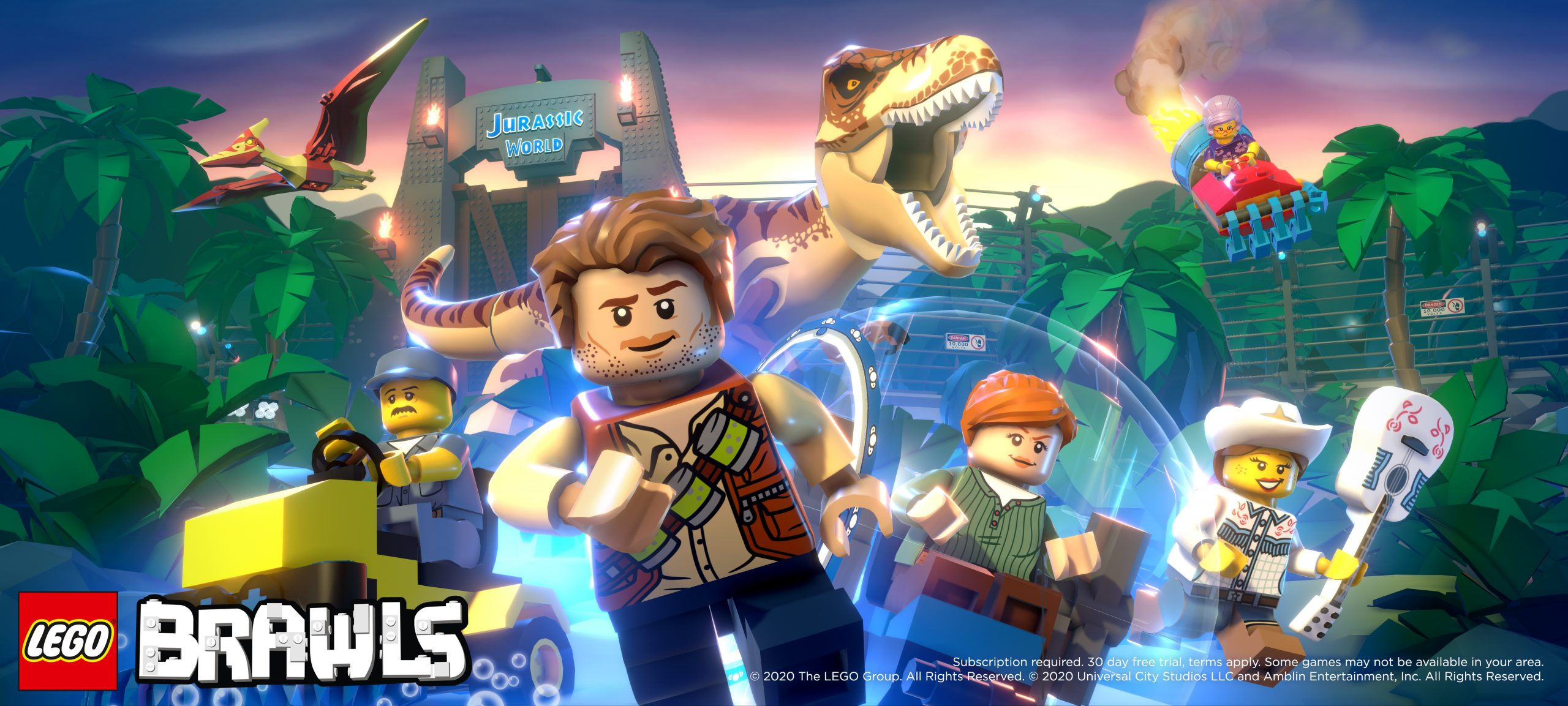New Jurassic World Content Comes to LEGO Brawls Mobile Game