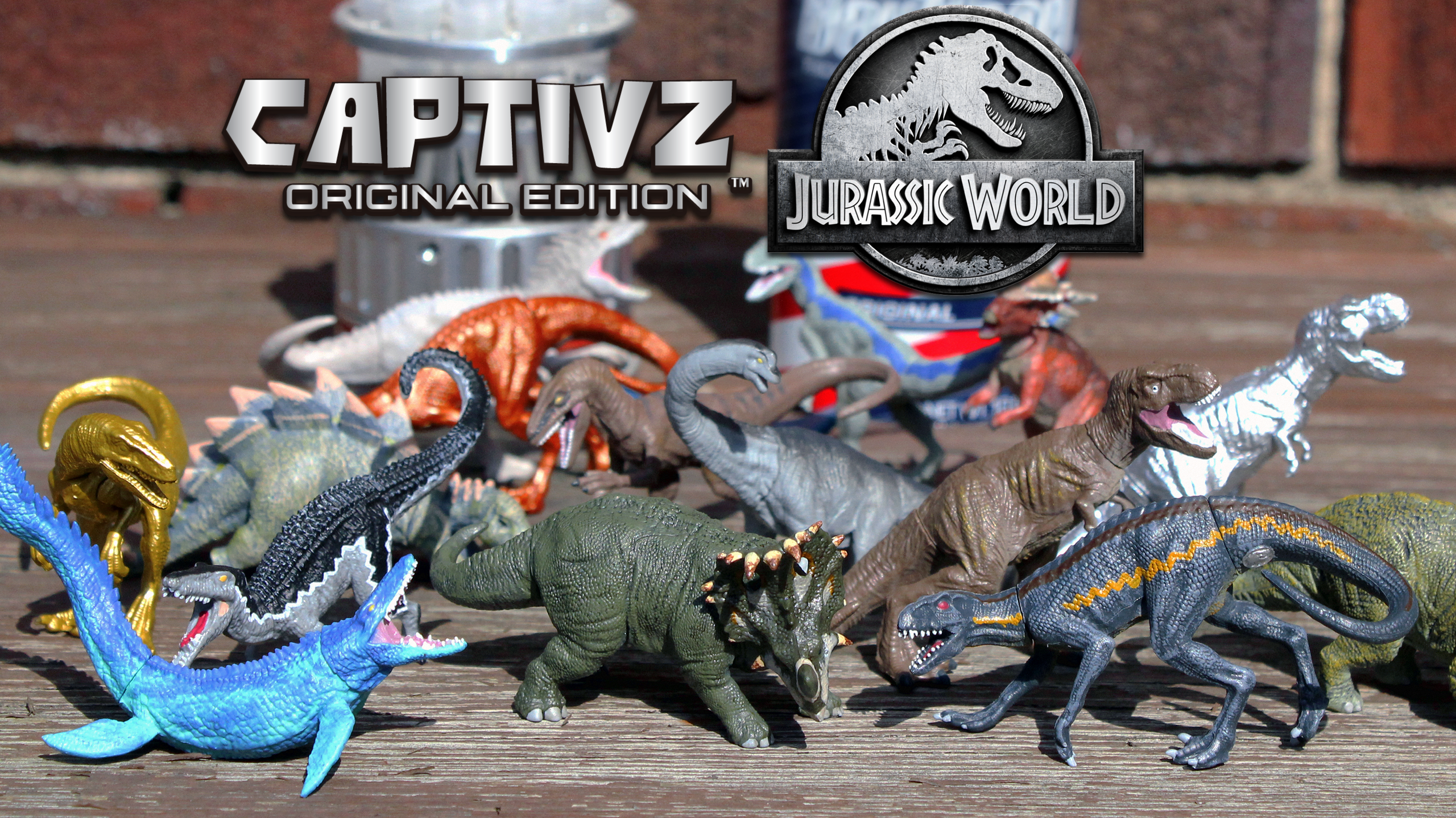Jurassic World Captivz Collection: Minifigures With a Premium Bite