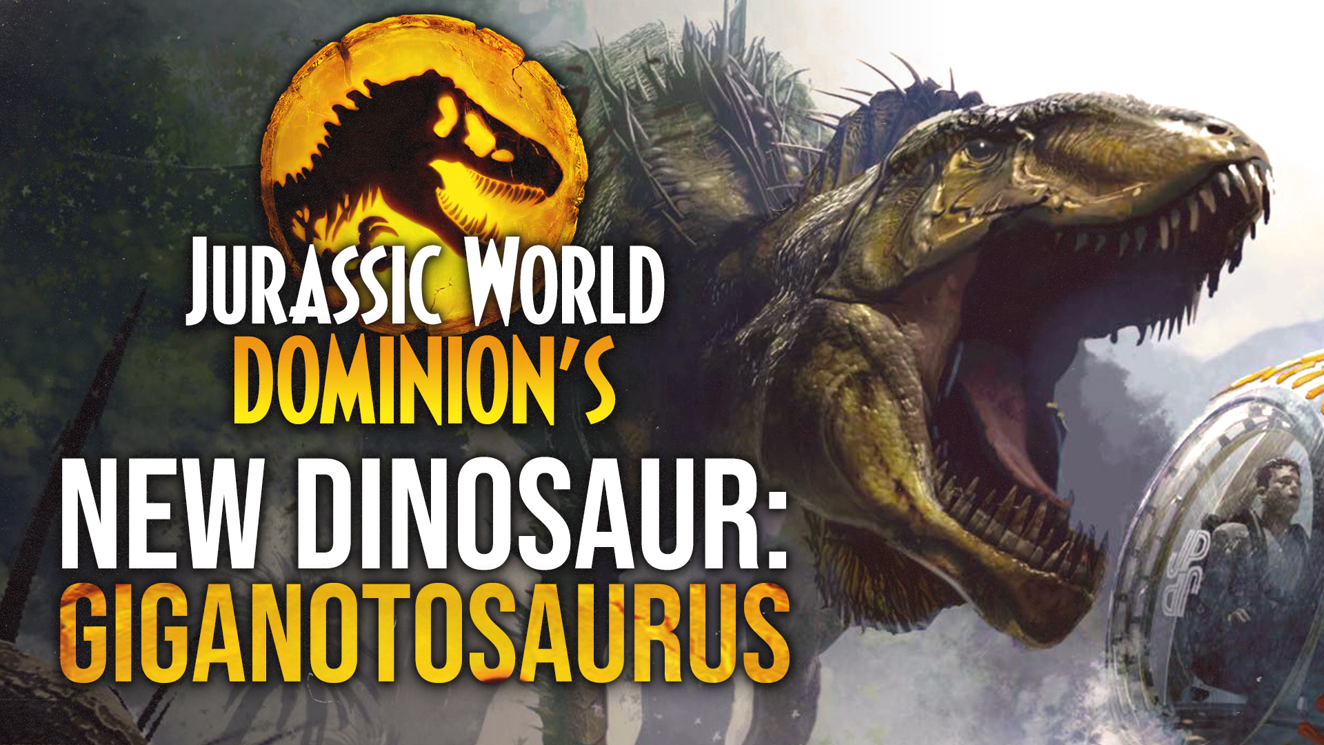 Sam Neill Confirms: GIGANOTOSAURUS to Debut in 'Jurassic World: Dominion'