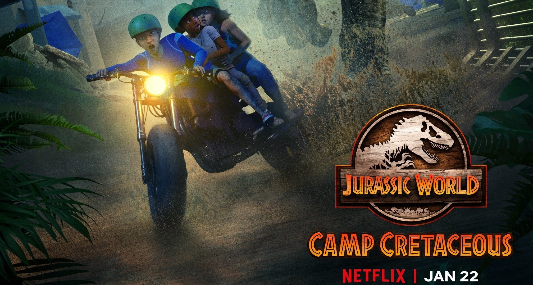 'Jurassic World: Camp Cretaceous' Season 2 Coming January 22 – New Trailer!