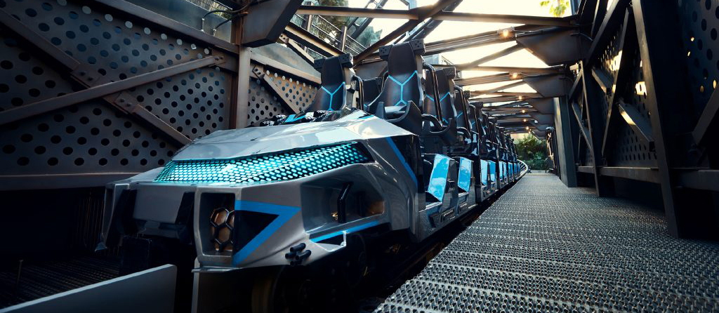 Universal Orlando Resort Releases First Look at Jurassic World 'Velocicoaster' Ride Vehicles!