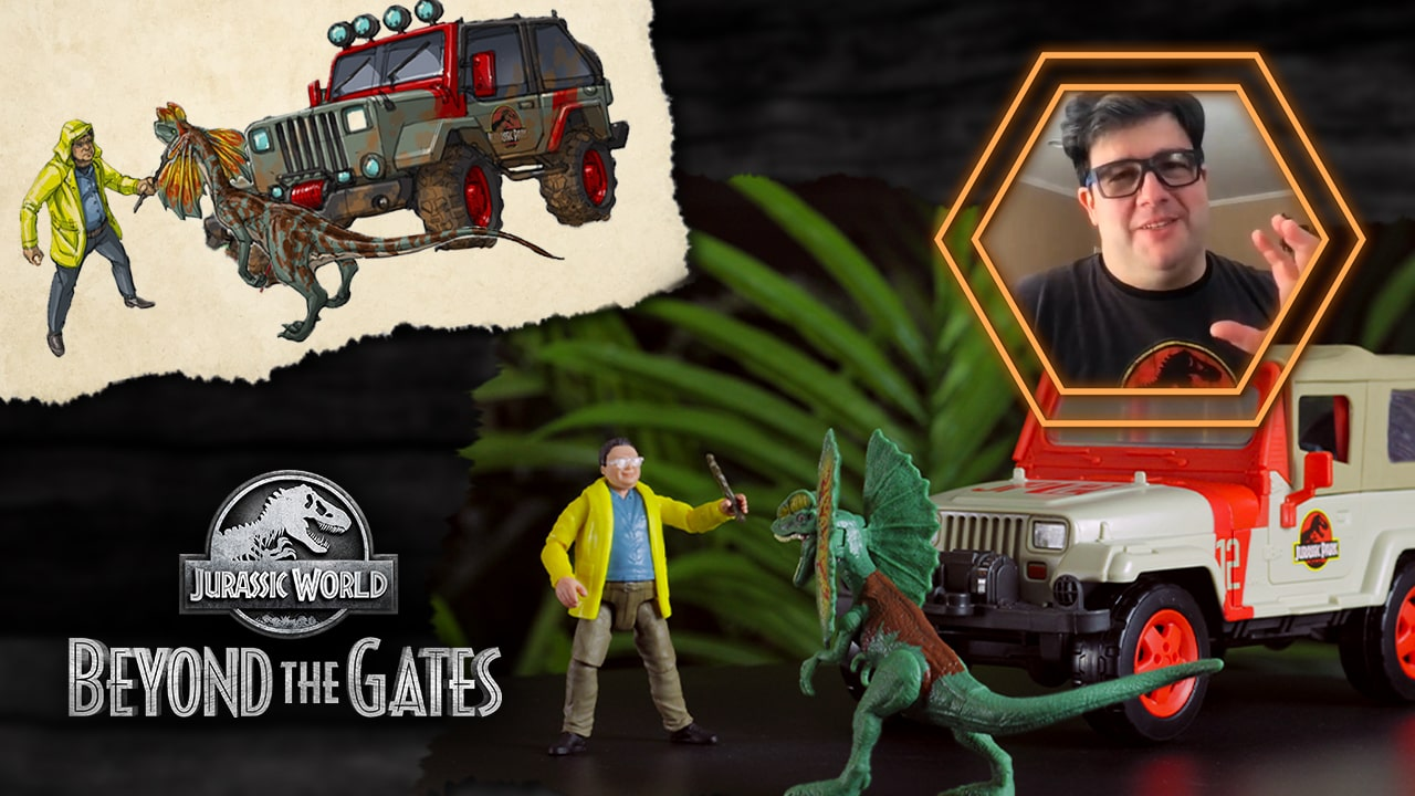 Take a Look at the Brand New Nedry's Getaway Pack Featured in 'Beyond The Gates' Episode 2!