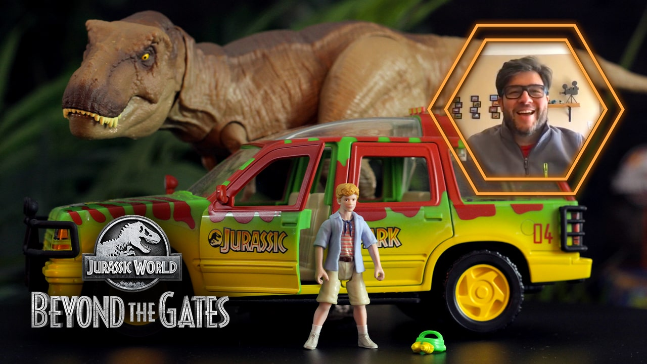 'Beyond The Gates' Episode 4 Debuts Legacy Collection TYRANNOSAURUS REX ESCAPE PACK!