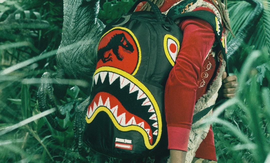New Sprayground 'Jurassic Park' Backpack