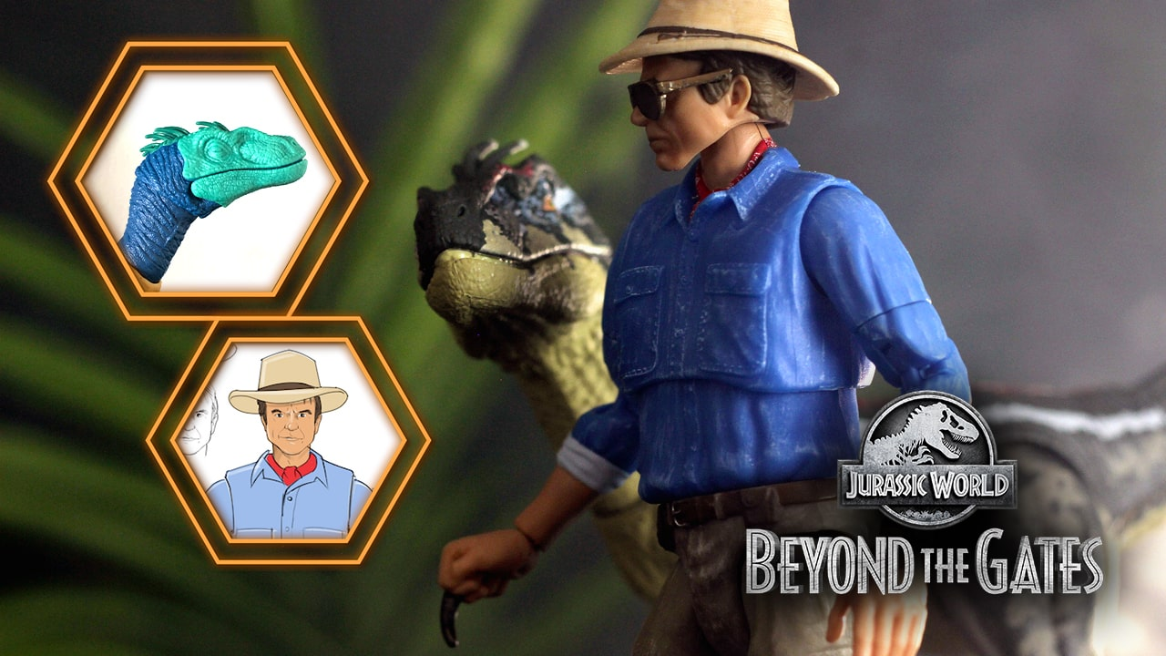 Isla Sorna's Jurassic Park 3 Male Velociraptor Brought to Life in New 'Beyond The Gates' Episode 6!
