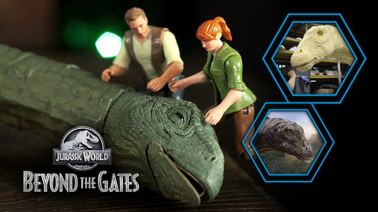 Jurassic World's APATOSAURUS Revealed in 'Beyond The Gates' Penultimate Episode!