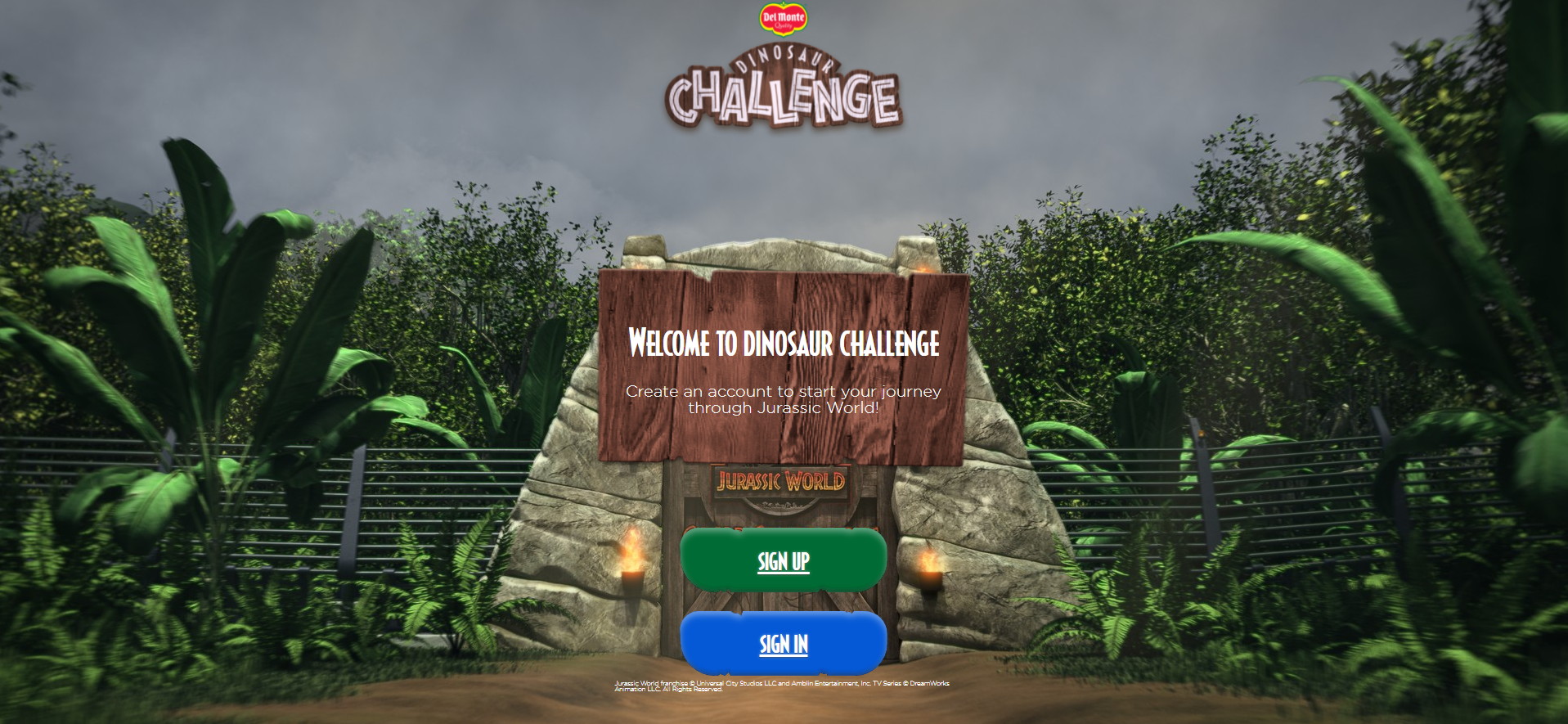 Join The Camp Cretaceous 'Dinosaur Challenge' with Del Monte