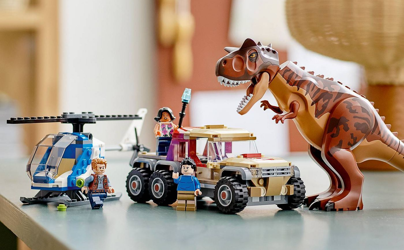 New Jurassic World Camp Cretaceous LEGO Sets Available Now!